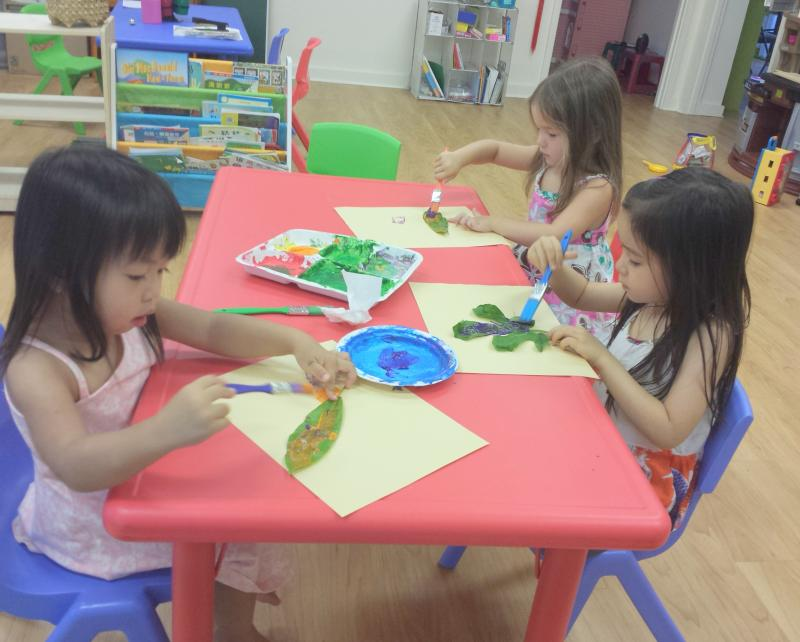 Afterschool Chinese Immersion for preschoolers